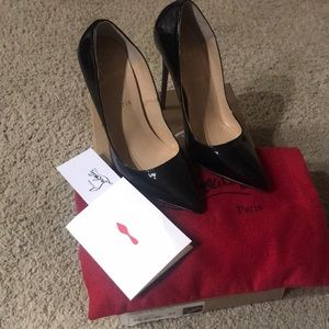 Louis Flat So Kate Pumps 12 cm - size 37